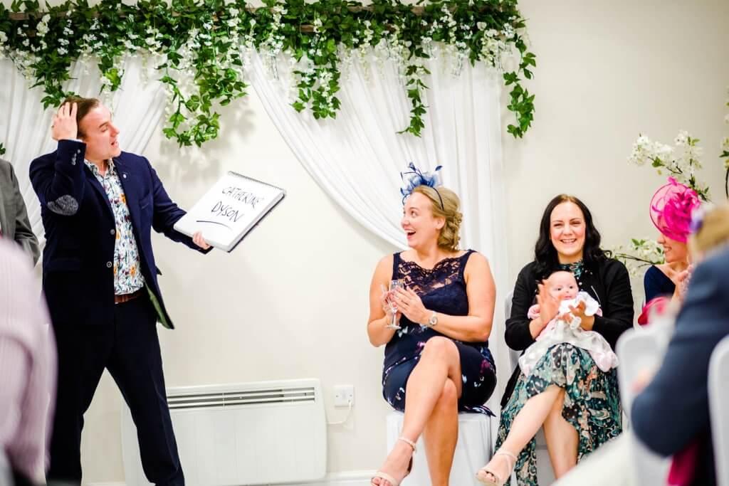 Photo showing wedding entertainment ideas
