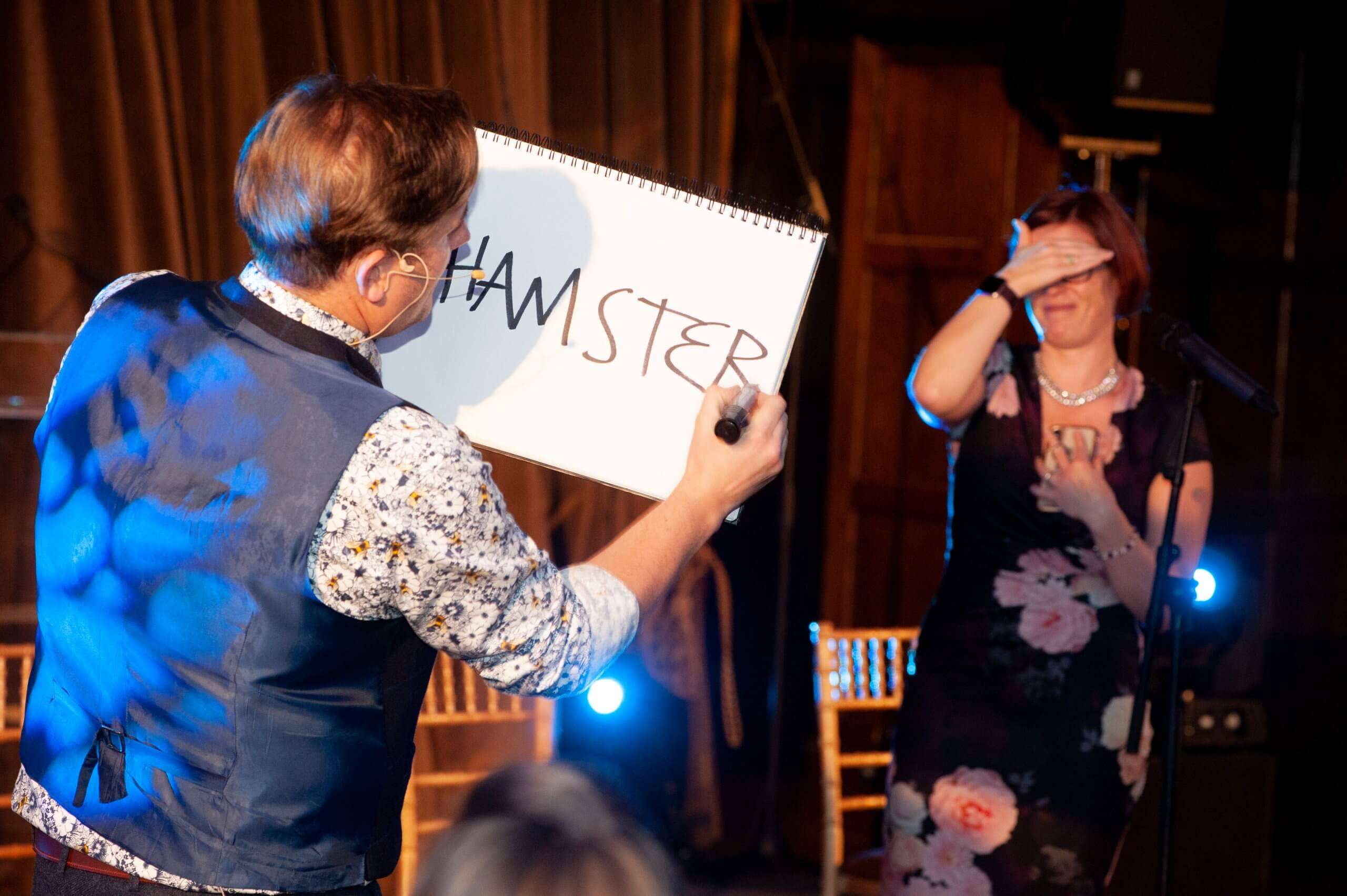 Image of Magician in Leeds performing.
