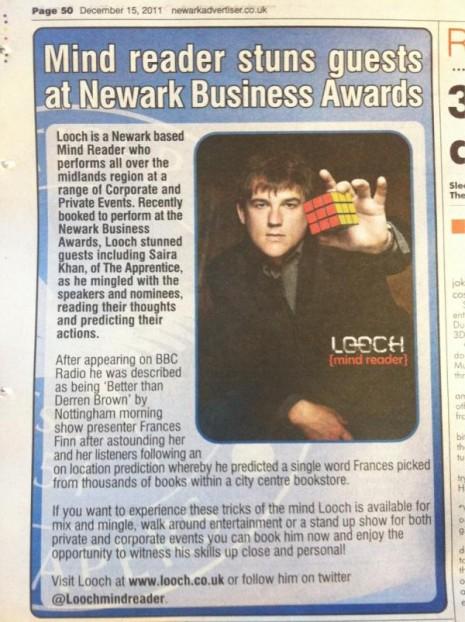 Newark Advertiser Looch