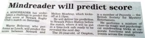 The Prediction - Mind Reader 1