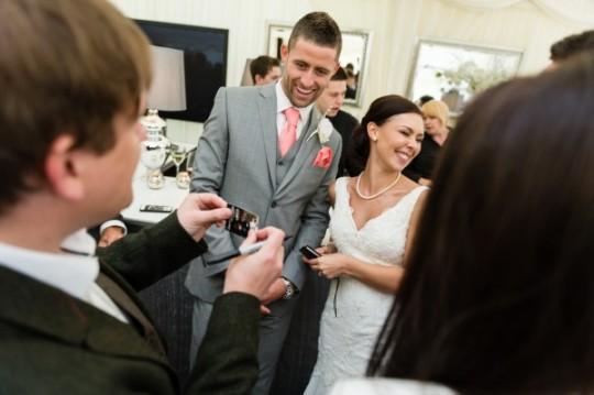 Gary Cahill's Wedding