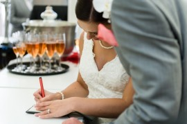 Wedding Signing