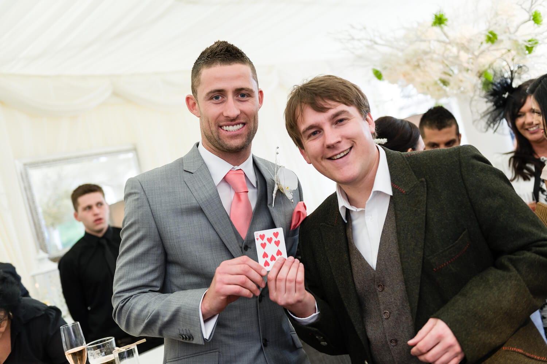 Photo of Gary Cahill's Wedding