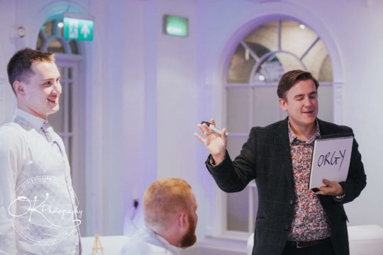 Looch, wedding magician in Nottingham