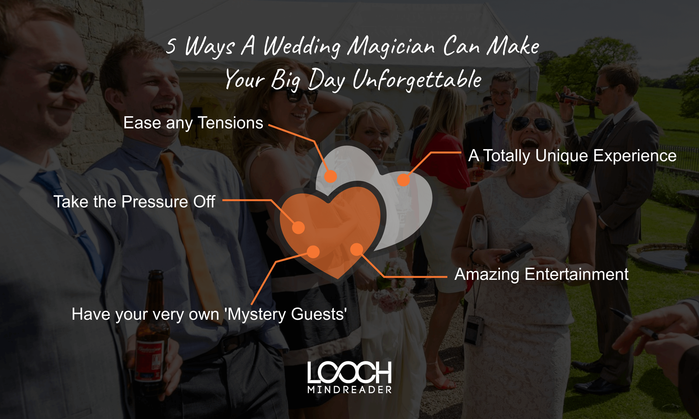 Infographic for Wedding Magician