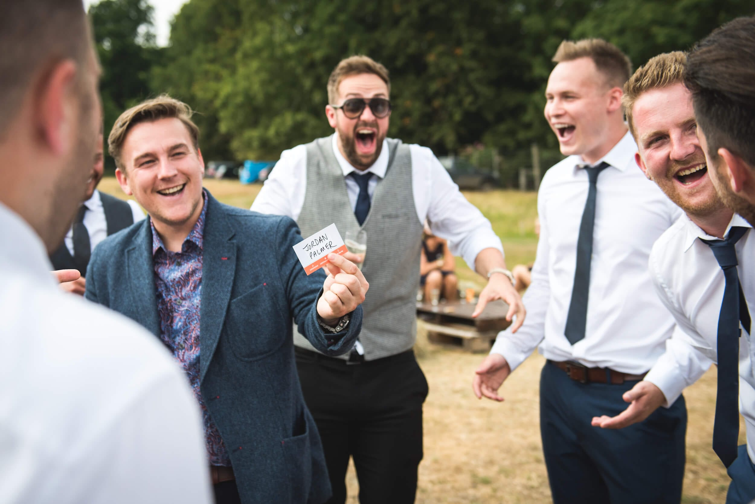Photo of a Wedding Magician for Hire