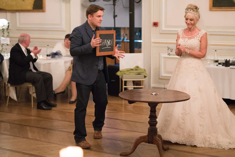 Photo of Wedding Magician in Sheffield Looch