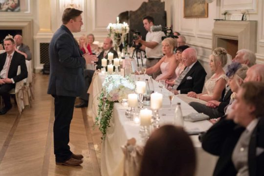 Photo of wedding magician in Derby
