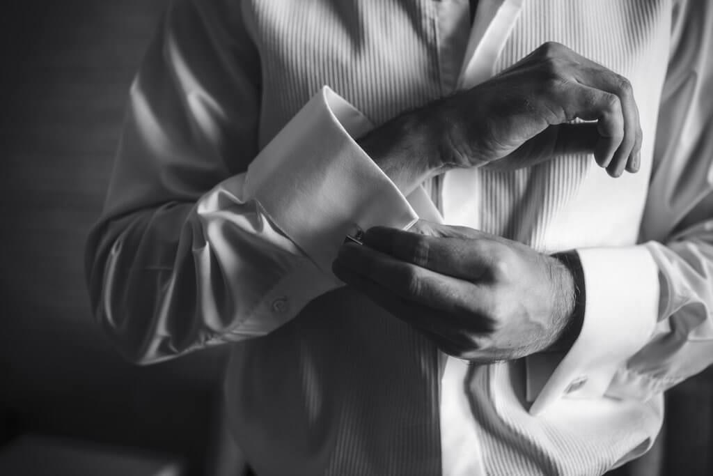 Image of Black Tie Party Magician preparing