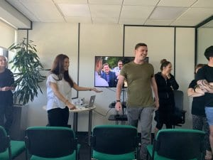 Photo of Mind Reader at First Response Finance Ltd Wellbeing at work day