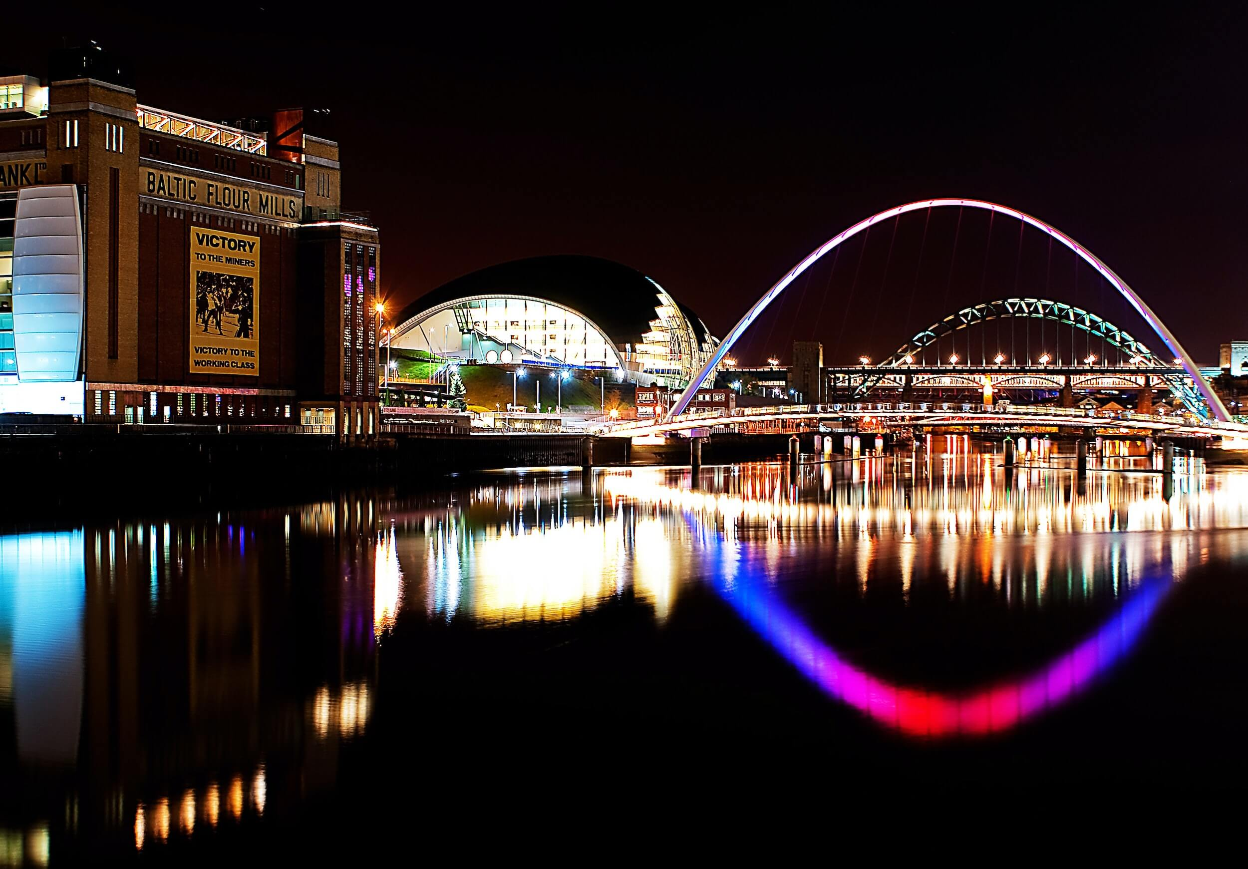 Photo of Newcastle, where Looch has performed for many years